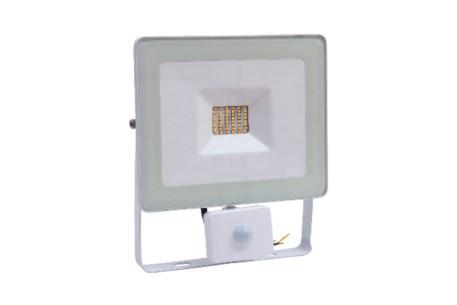Projecteur LED blanc avec détecteur