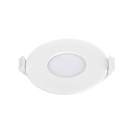 Dalle LED slim Panasonic ronde 3W 3000K Diam 85mm