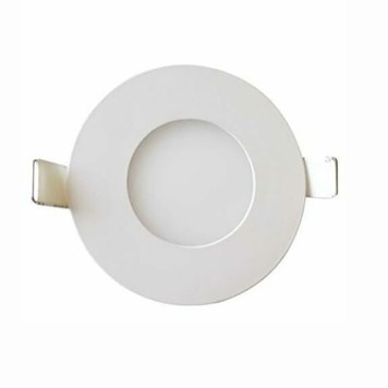 Dalle LED extra plate ronde blanc dimmable 3W