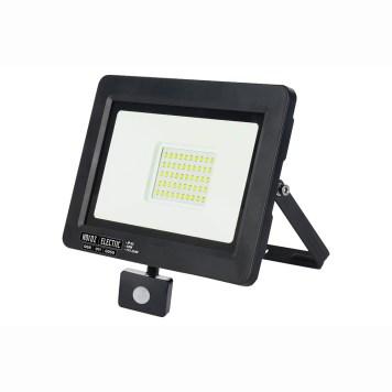 Projecteur à LED puissance 50W avec détecteur de mouvement.