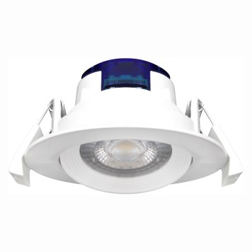 Spot LED encastrable rond blanc 5W