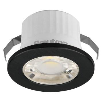 Mini spot LED rond noir