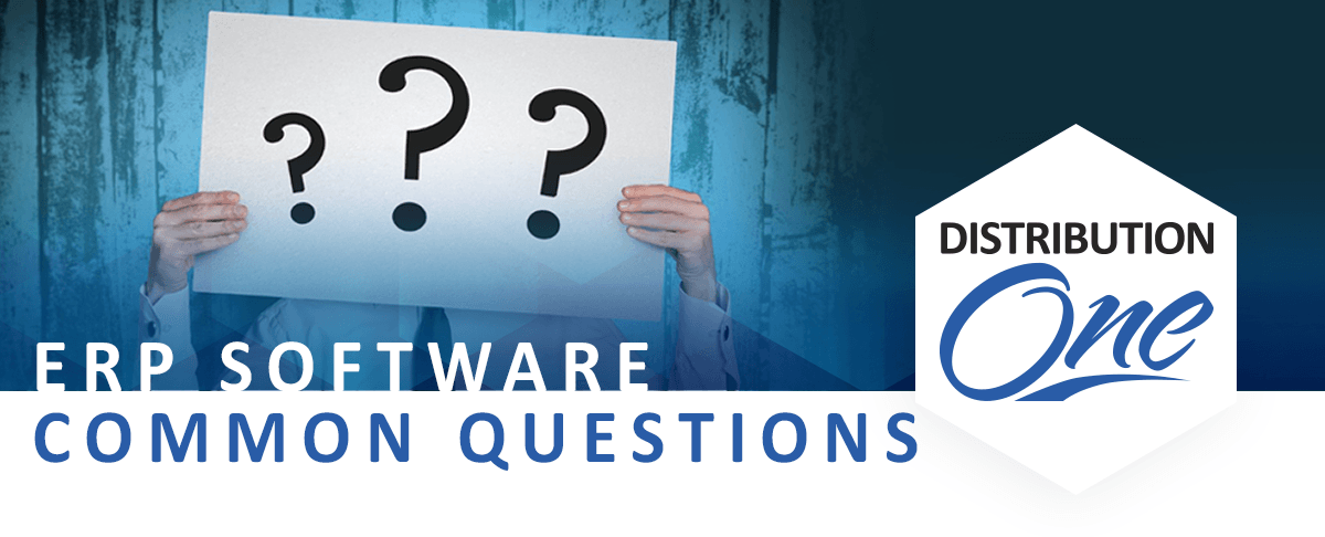 erp software questions distribution one