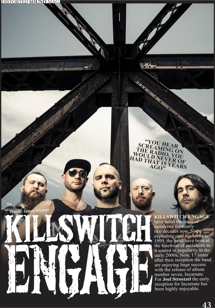Distorted Sound Killswitch Engage