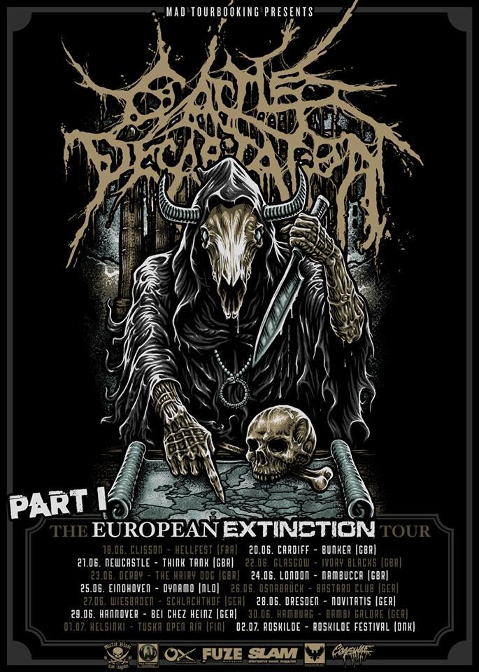 Cattle Decapitation EU tour