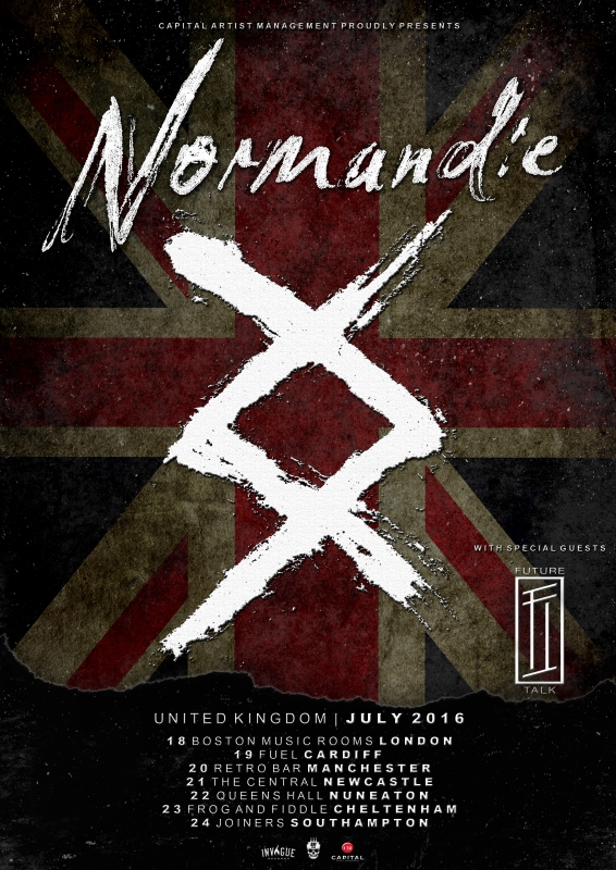 Normandie Tour Poster July 16