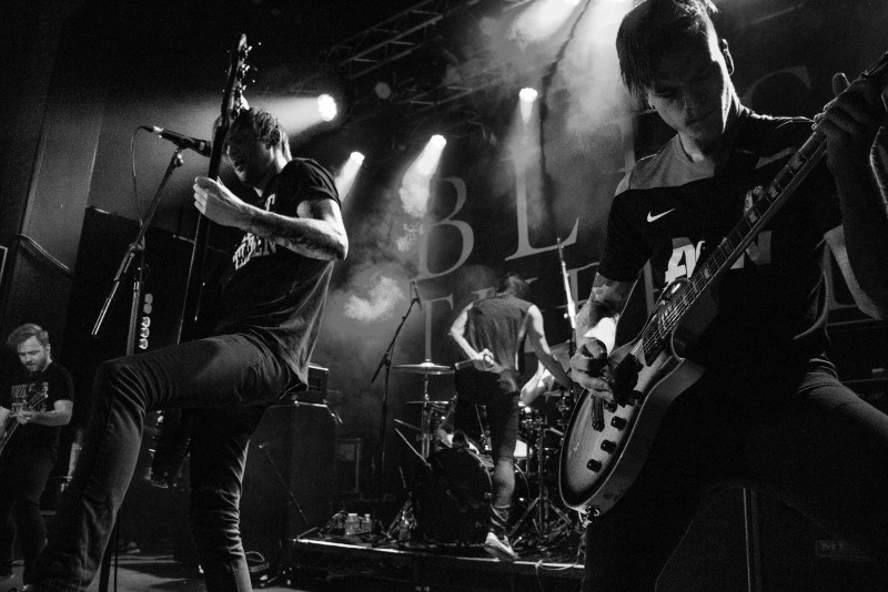 Blessthefall live @ Impericon Festival, Manchester. Photo Credit: Christopher Ryan