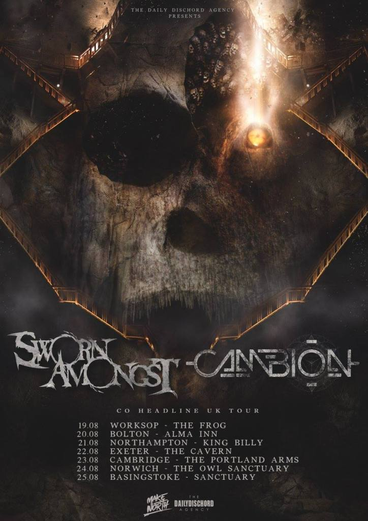 Sworn Amongst UK Tour 2016