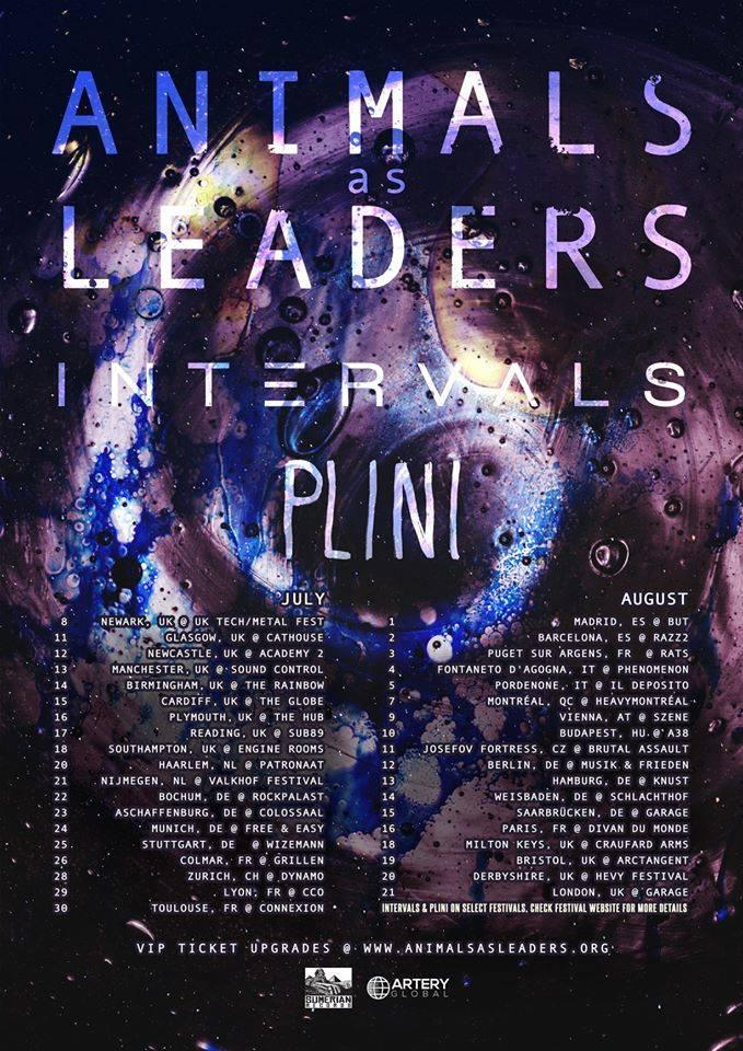 Animals As Leaders UK Tour