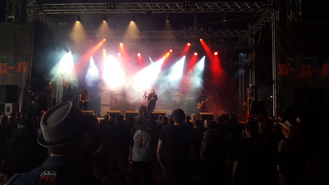 The Heretic Order live at Bloodstock Festival. Photo Credit: James Weaver