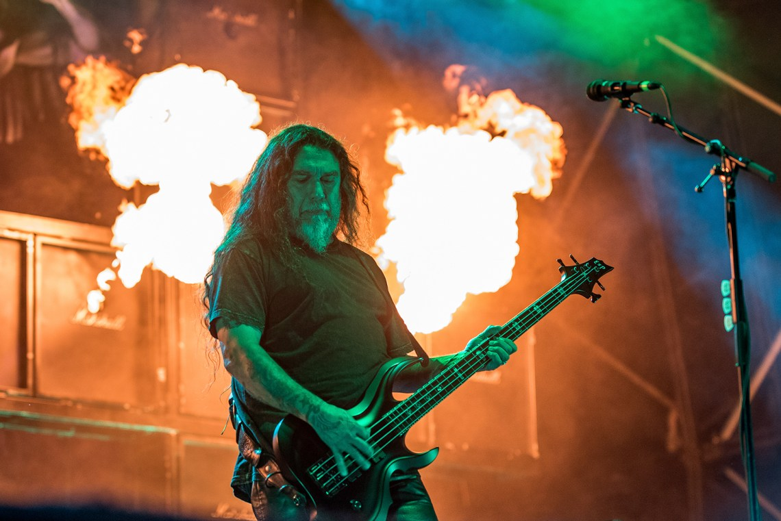 Slayer live at Bloodstock Festival 2016. Photo Credit: Sabrina Ramdoyal
