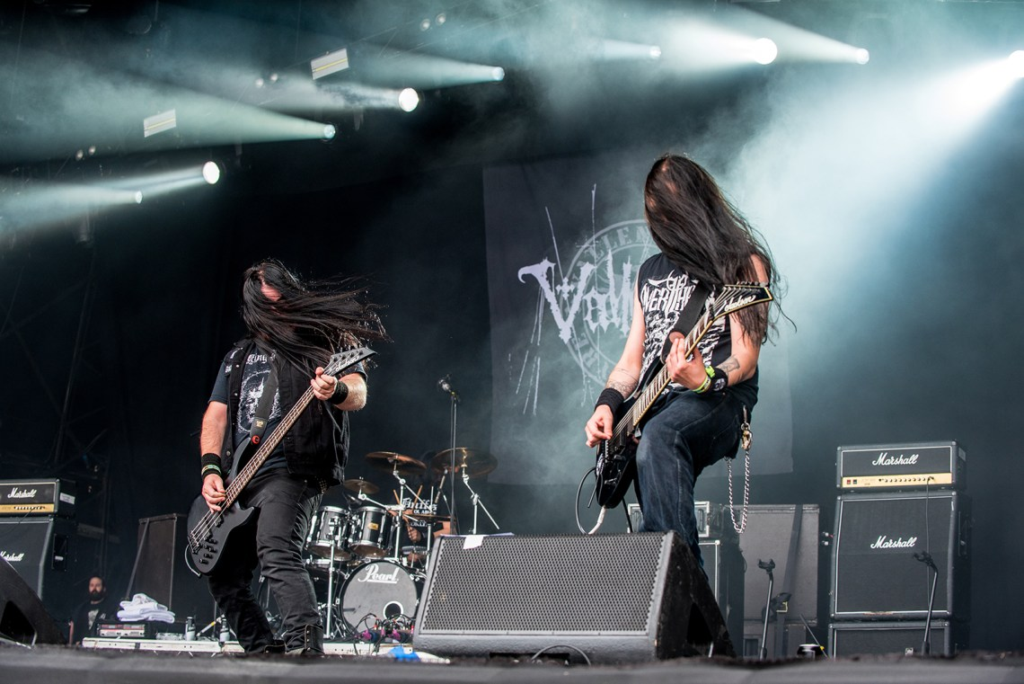 Vallenfyre live at Bloodstock Festival 2016