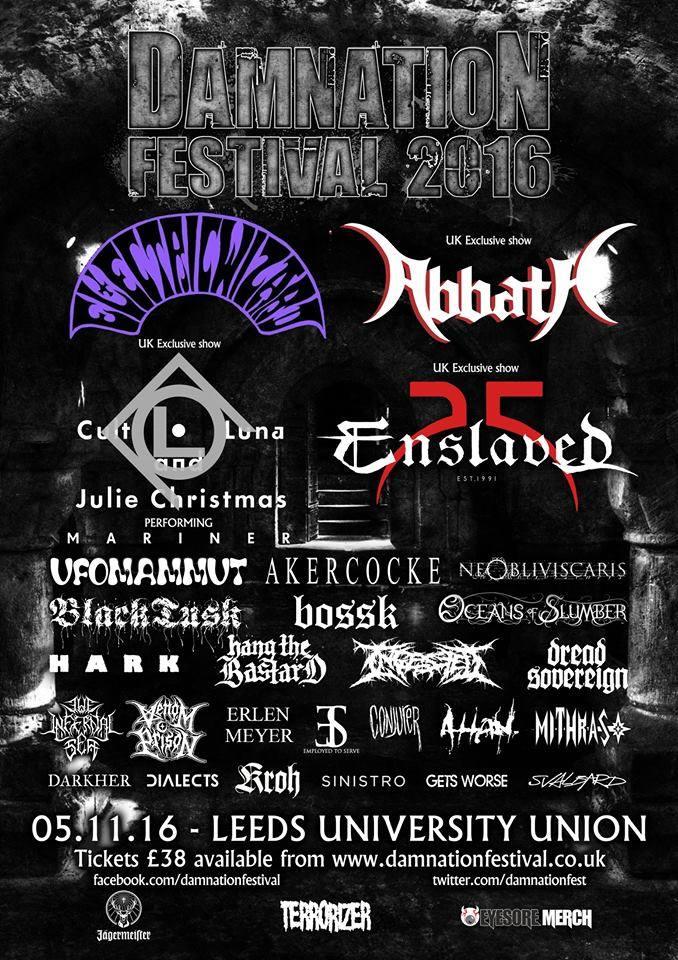 Damnation Fest 2016