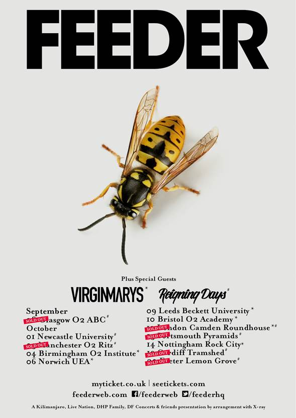 The Virginmarys Feeder Tour
