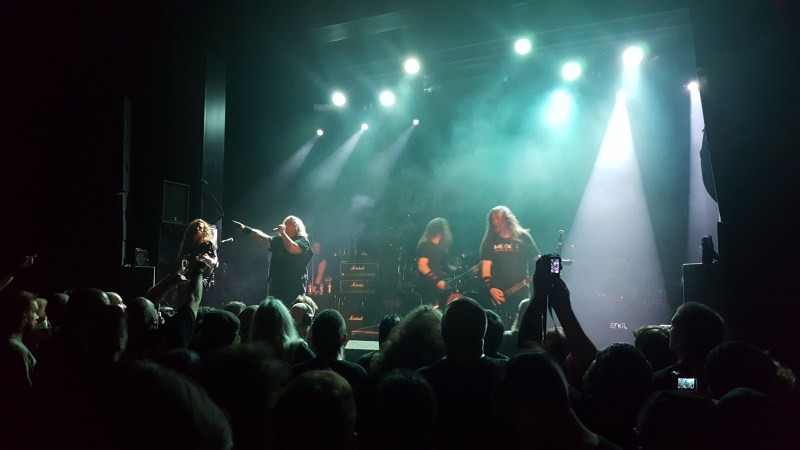 Exodus live @ Academy 2, Manchester. Photo Credit: James Weaver