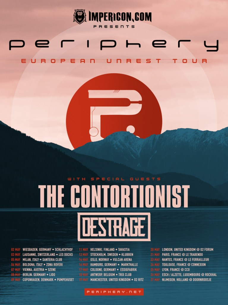 Periphery EU Tour 2017
