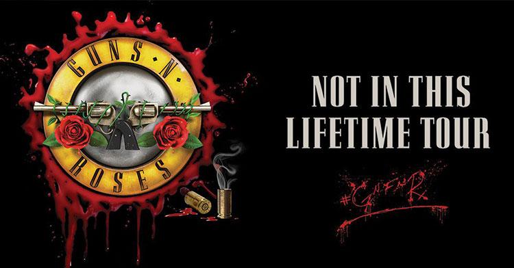 Guns N' Roses EU Tour