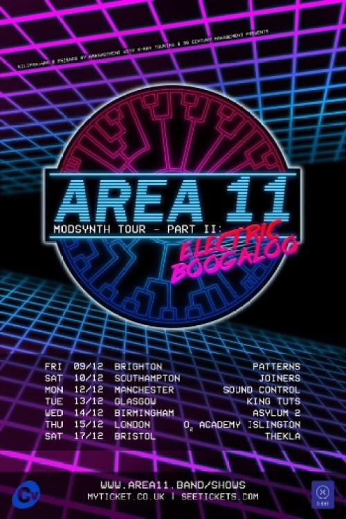 Area 11 UK Tour