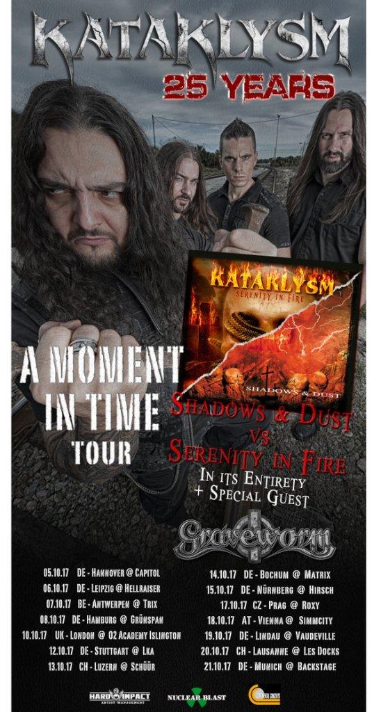 Kataklysm EU tour 2017