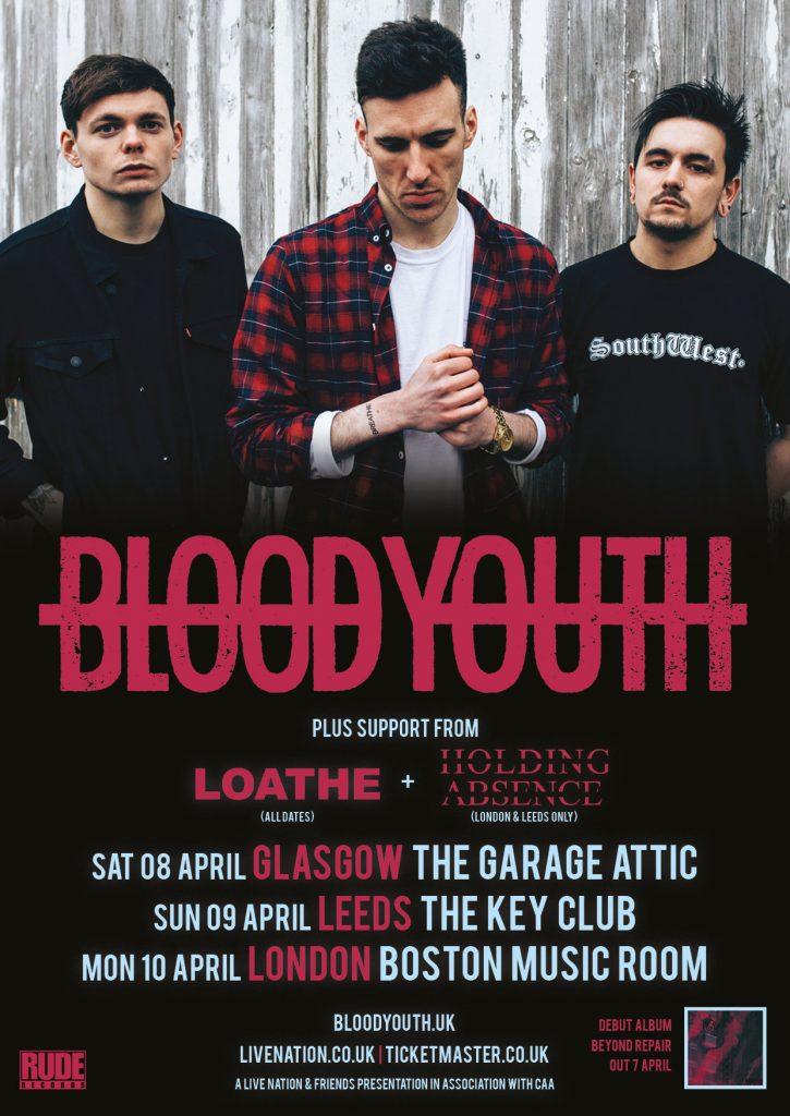 Blood Youth UK Tour