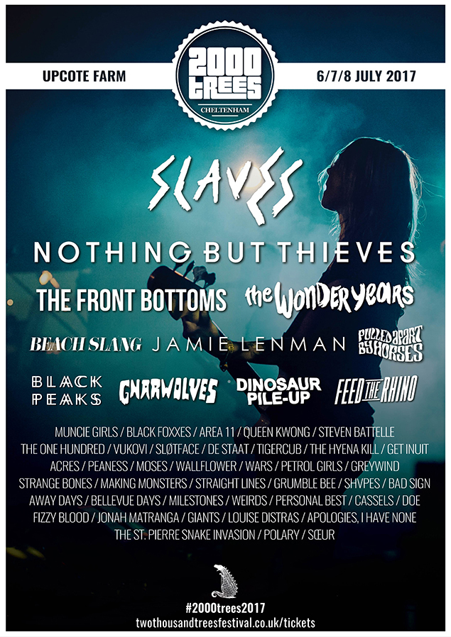 2000 Trees Festival 2017 - March