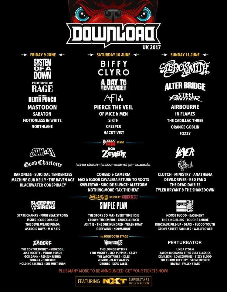 Download Festival - March 2017