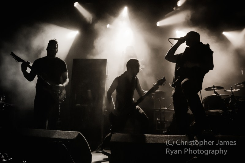 Aborted live @ Academy, Manchester. Photo Credit: Christopher Ryan Photography