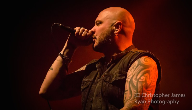 Soilwork live @ Academy, Manchester. Photo Credit: Christopher Ryan Photography
