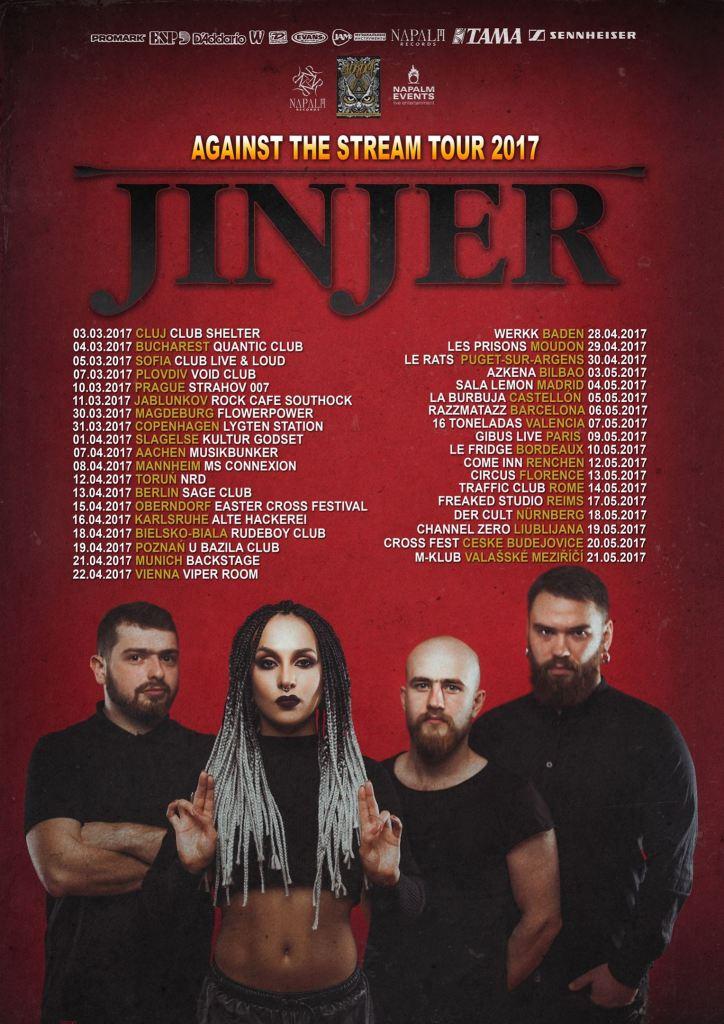 Jinjer EU Tour 2017