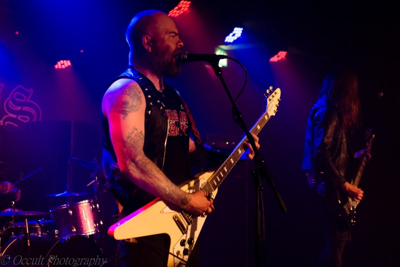 Grand Magus live @ Sound Control, Manchester. Photo Credit: Occult Photography