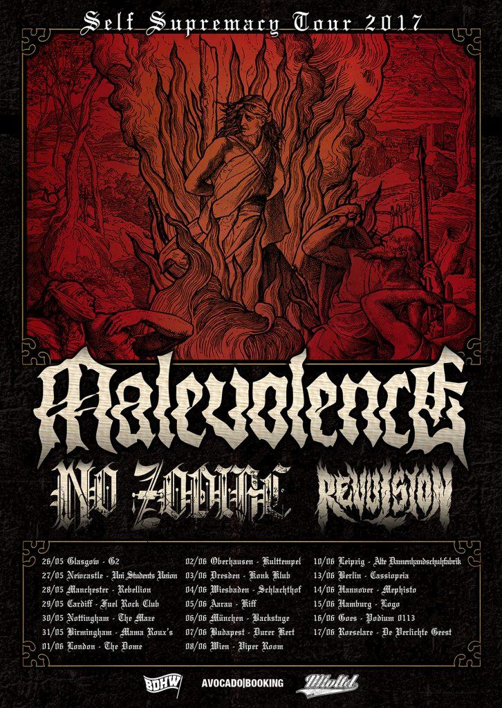 Malevolence EU tour