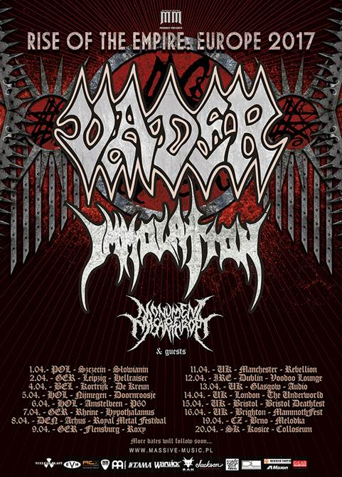 Vader UK Tour 2017