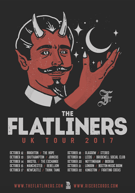 The Flatliners UK Tour 2017
