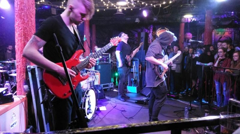 David Maxim Micic live @ Satans Hollow, Manchester. Photo Credit: Henry Jones