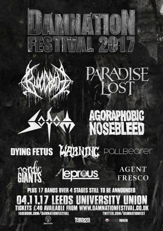 Damnation Festival 2016 - May