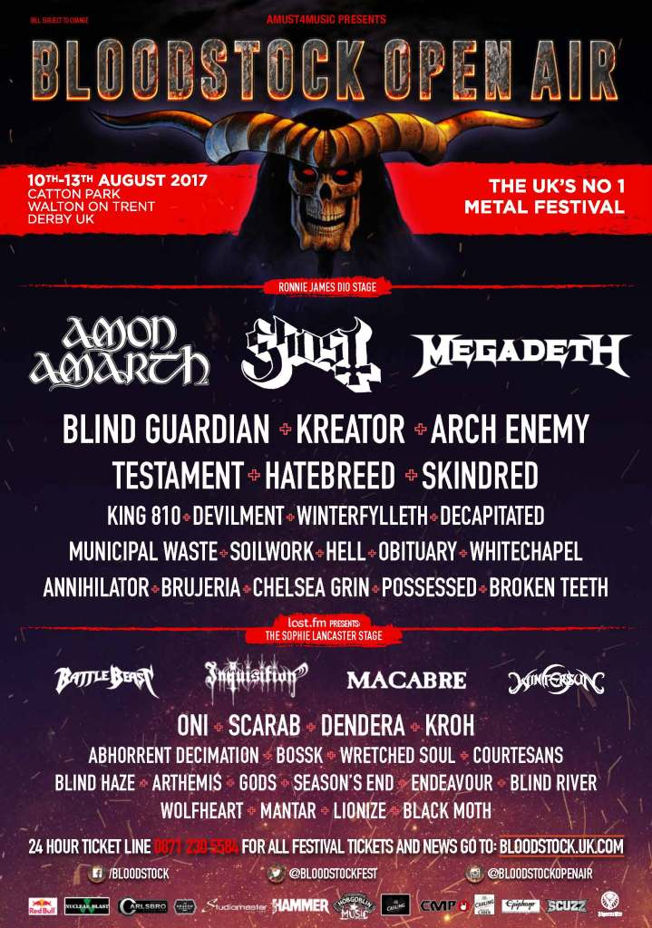 Bloodstock 2017 - 16 May