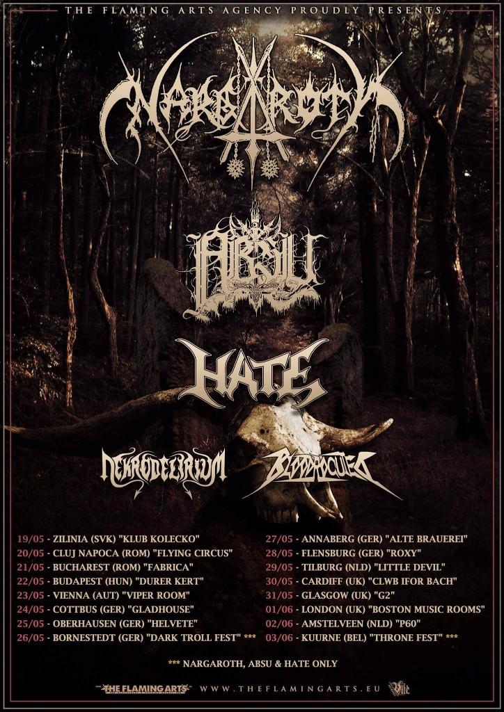 Nargaroth EU Tour