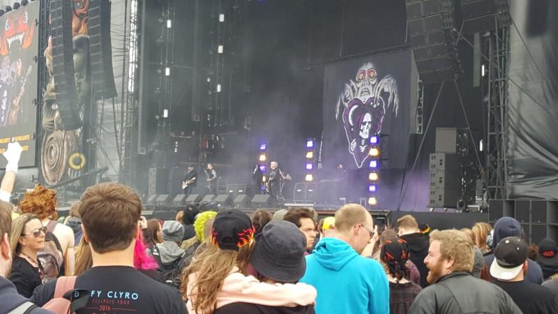 Creeper live @ Download Festival 2017. Photo Credit: James Weaver