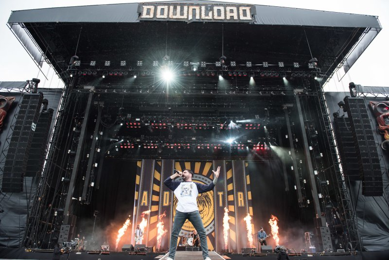 A Day To Remember live @ Download Festival 2017. Photo Credit: Ben Gibson