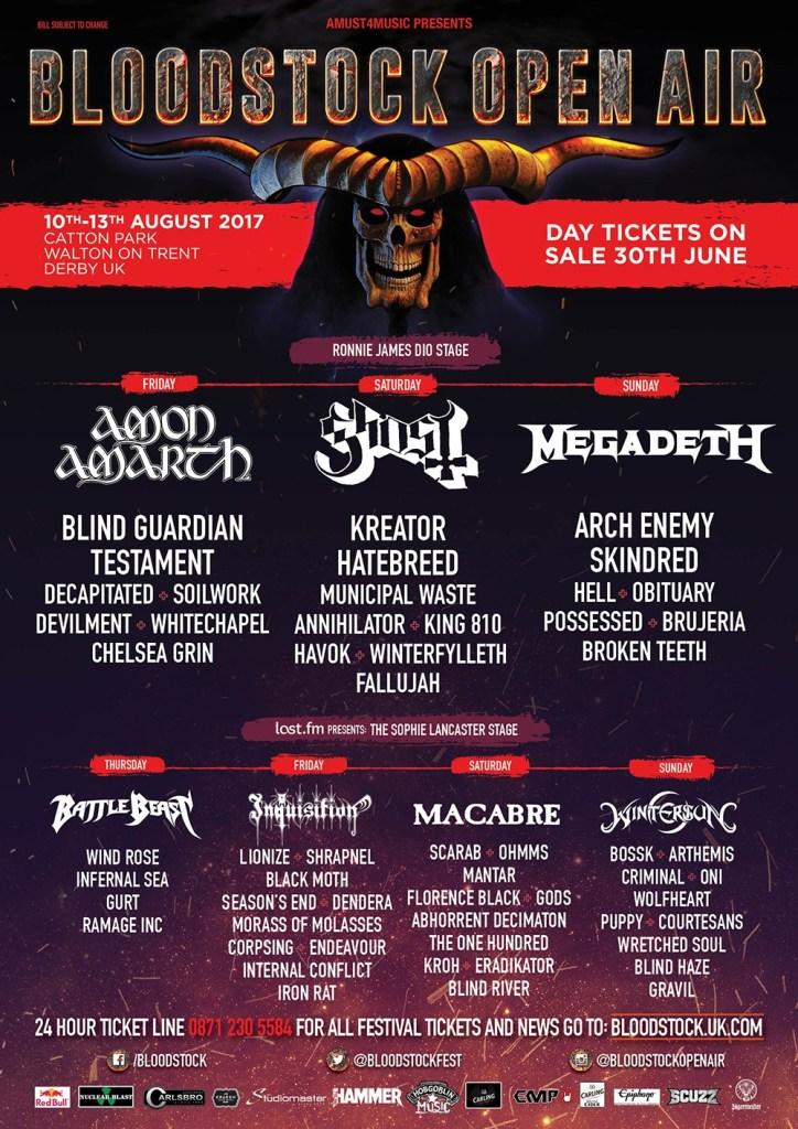 Bloodstock Festival 2017 - June