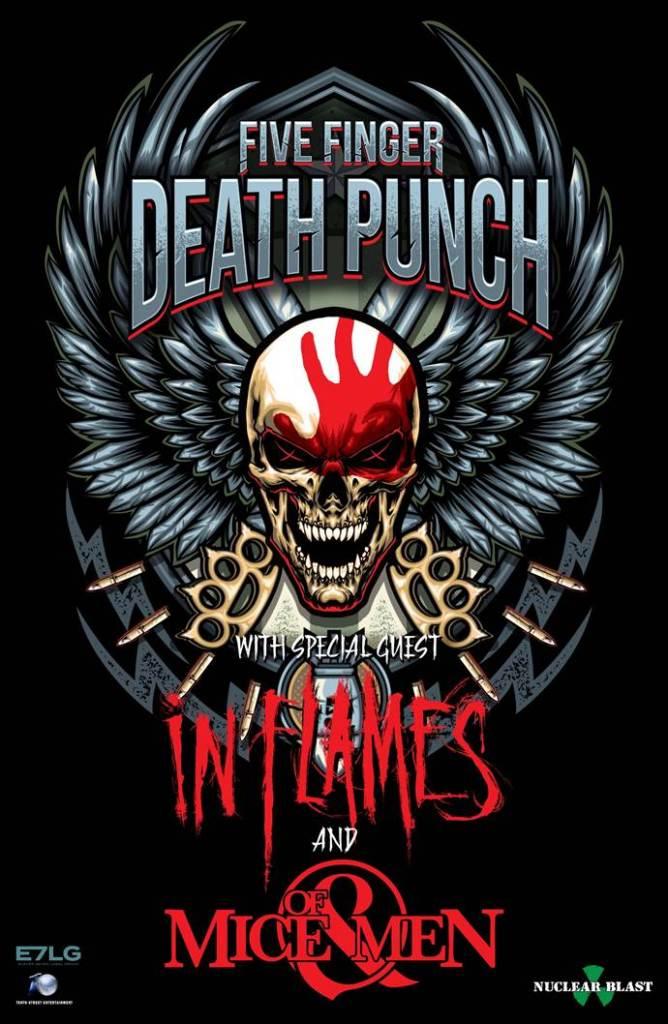 Five Finger Death Punch / In Flames - EU Tour 2017