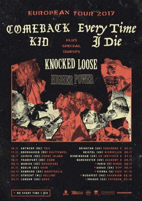 Comeback Kid EU/UK tour