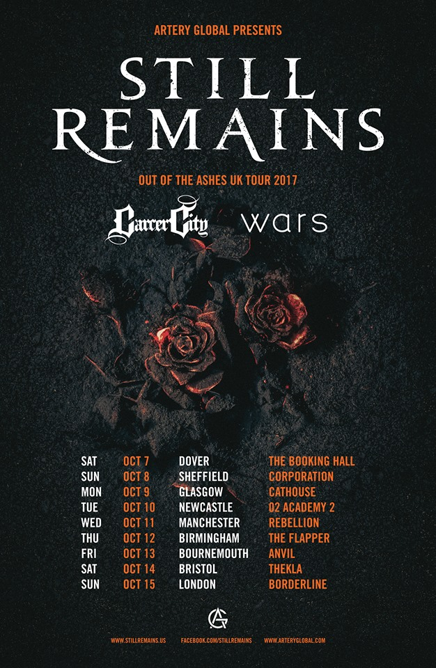 Still Remains UK Tour 2017