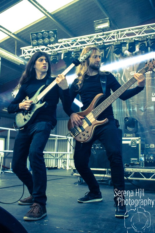 Obscura live @ UK Tech-Fest 2017. Photo Credit: Serena Hill Photography