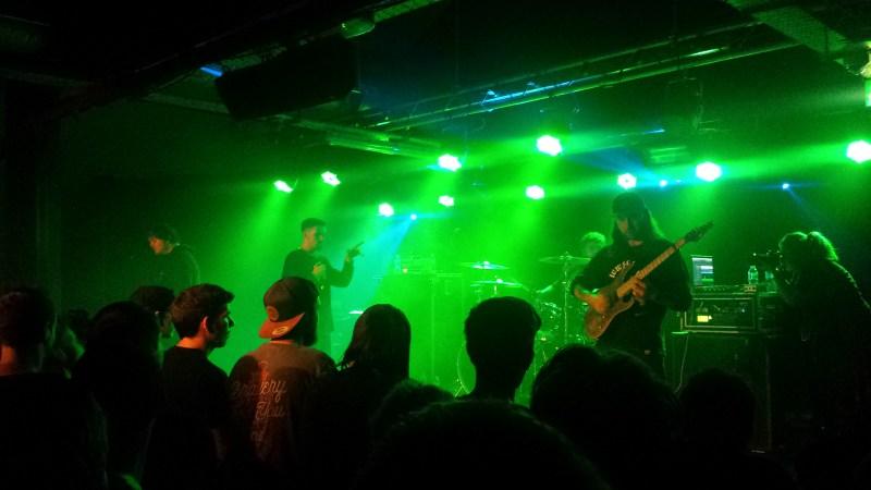 Napoleon live @ Sound Control, Manchester. Photo Credit: James Croft
