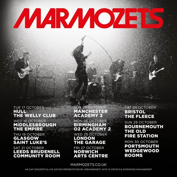 Marmozets - UK Tour October 2017