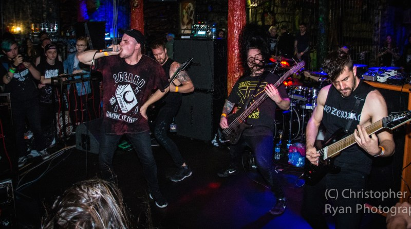 Aversions Crown live @ Satan's Hollow, Manchester. Photo Credit: Christopher Ryan Photography