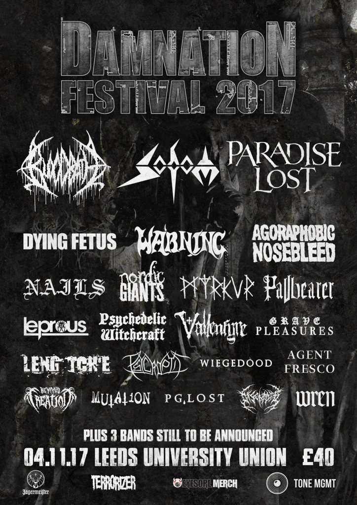 Damnation Festival 2017 - August