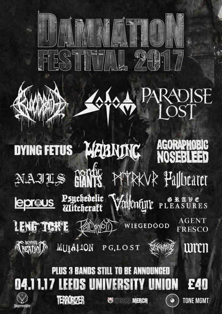 Damnation Festival 2017 - August