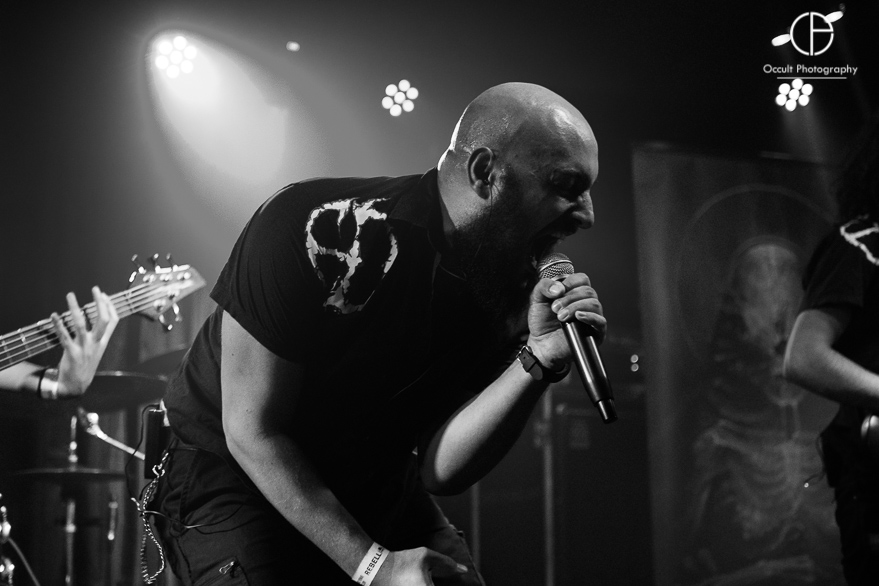 Hideous Divinity live @ Rebellion, Manchester. Photo Credit: Occult Photography